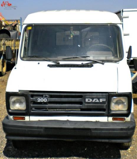 DAF 200  closed box van for parts