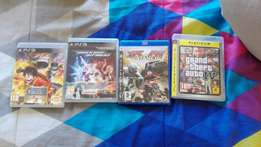 4 PS3 games for sale