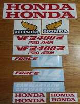 Honda VFR decals stickers kit for all NC models