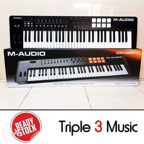 M-Audio Music 61 keys, one of the most powerful media