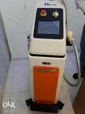 aroma diode laser for hair removal