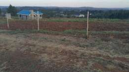 50 x100 plots at kamangu 700 meters from Tarmac.
