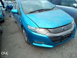 Sparkling blue Honda Insight