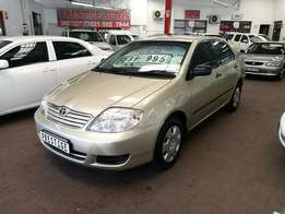 2005 Toyota Corolla 160i GLE Automatic, Selling at R89995