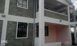 A 3 bedroom bungalow To Let in Ongata Rongai.