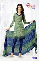 Indian suit material 3 pieces