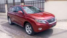 RX450H 2010 Unregistered (KCP) Wine Red