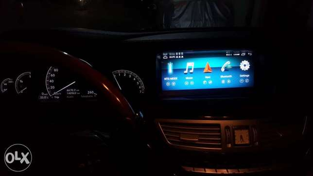 Full touch Android Screen for Mercedes Benz S class