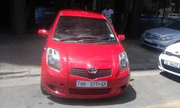Toyota yaris 1.6 red in color automatic 2009 model 95000km R 93000
