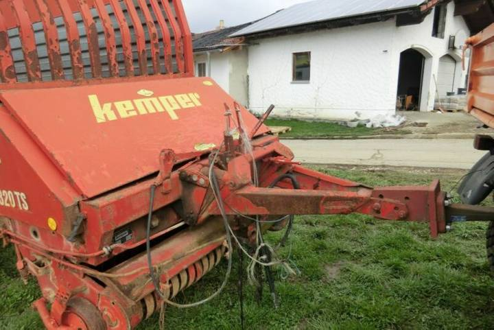 Kemper erntewagen  ksl 320 ts - 1983