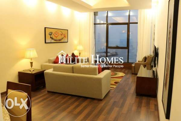 Furnished two bedroom flat ,close to kuwait city