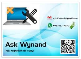 Need IT / PC HELP? Just ask Wynand