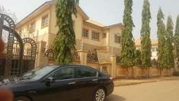 A four bedroom fullt detached duplex with BQ in sunny vile Abuja