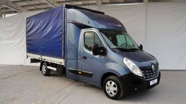 Renault MASTER 165DCI PRITSCHE 8PAL. / LONG CAB / LUFT - 2015