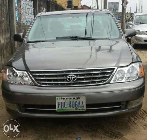 Sweet and clean Toyota Avalon Port Harcourt - image 1