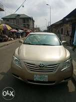 Toyota Camry spider gold