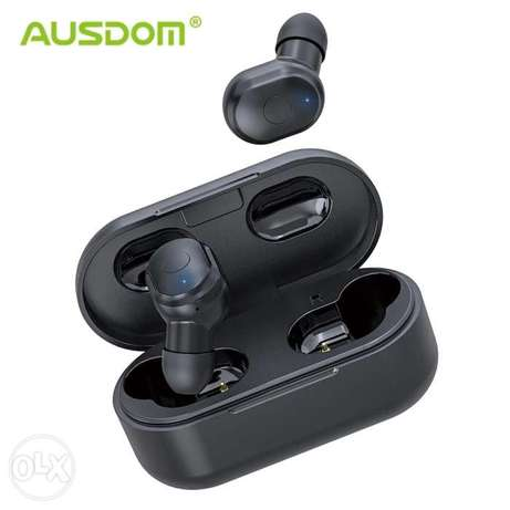 Ausdom earphone 600mah battery الرياض -  3
