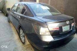Clean Registered 2008 Honda Accord With Leather Seats, Alloy Wheels