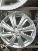 factory rim for toyota collora 4 both