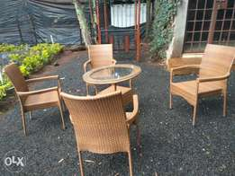Outdoor Restaurant, hotel, club rattan furniture