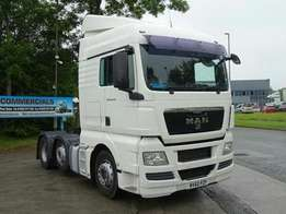 Man tgx cab diesel 2009 model