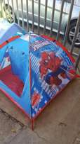 spiderman tent and slides