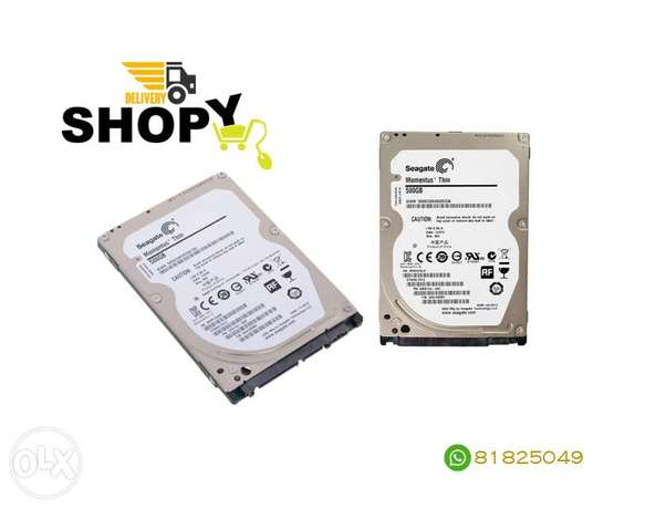 Seagate Laptop HDD 500GB Sata