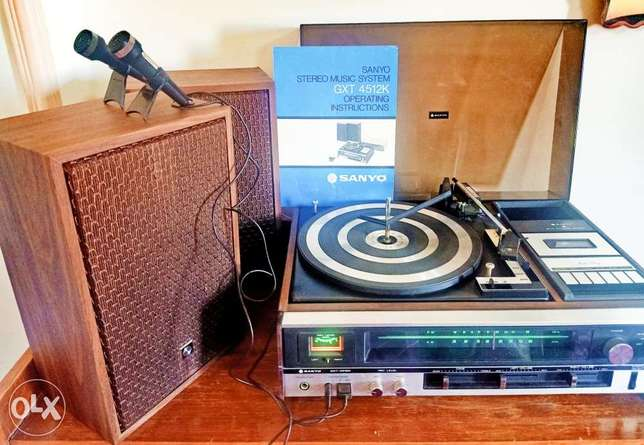 SANYO Stereo Music System GXT 4512K
