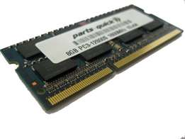 8GB Ddr3 laptop ram stick