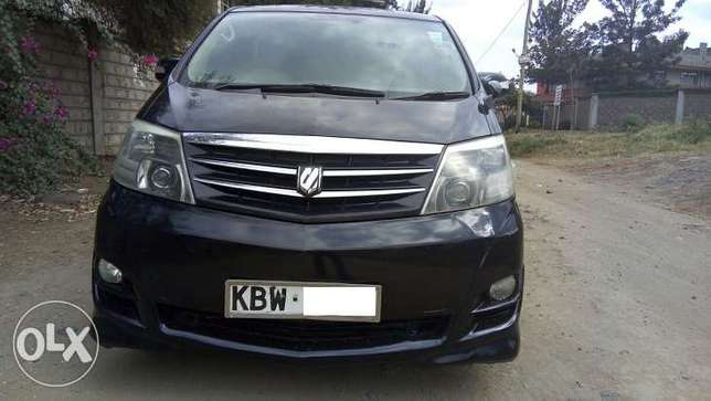 Toyota Alphard, Year 2006, KBW, 2400cc, Sheer Luxury Van Nairobi West - image 1