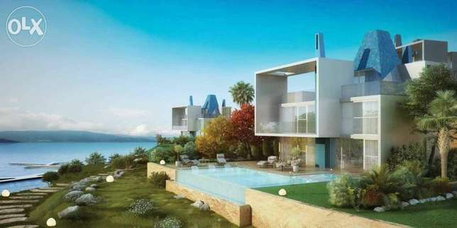 Standalone at Fouka Bay sea view second Row*375m Fully Finished