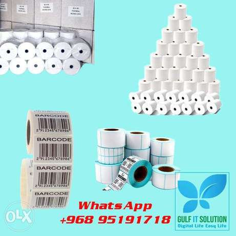 POS Paper Roll any size Receipt Print paper