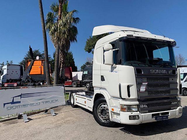 Scania 124 L 420 Manuale-Retarder Euro 3 - 2003
