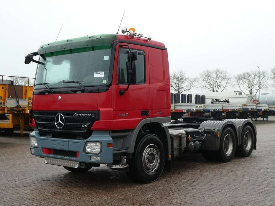 Mercedes-Benz ACTROS 3360 LS 6x4 manual 120t - 2008