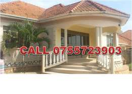Captivating 3 bedroom stand alone house in Bulindo-Kiira at 800k