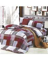 Multicoloured Cotton Duvet Cover Set - 5 by 6