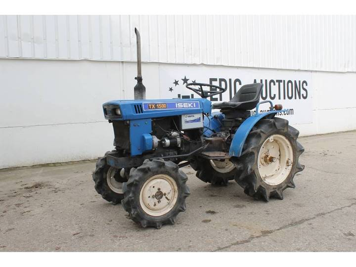Iseki TX1500 4WD Mini Tractor