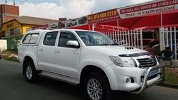 2013 Toyota Hilux 3.0D-4d Double Cab Automatic For Sale