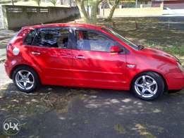2004 red polo 1.6 full house