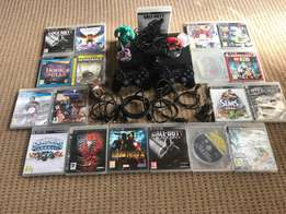 PS3 500G includes games, GREAT DEAL!!