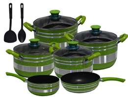 10 piece non stick cooking pot