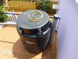 biogas system that use small space