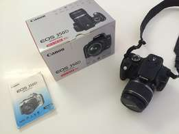 Canon EOS 350 D 8.00 MP DSLR Kit with 18-55