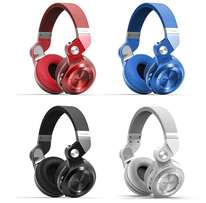 Bluedio T2+ foldable Bluetooth Headphones with FM & MicroSD Slot