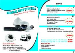 CCTV Security and Surveillance Systems