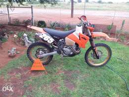 2003 ktm 525 sx for sale or swop