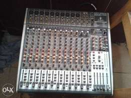 beringher 12 channel mixer for sale