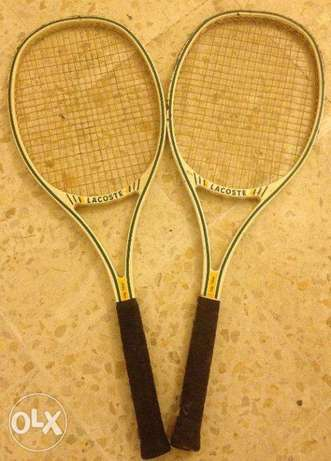 LacosteTennis Racket