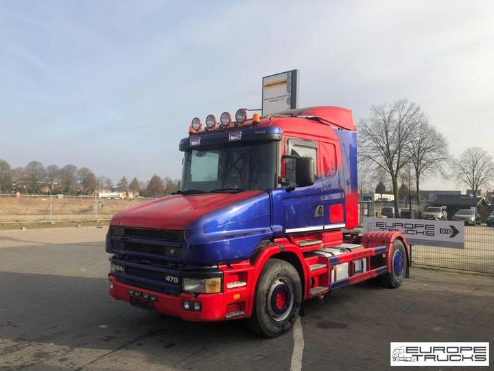 Scania T124 470 Torpedo / Hauber - Manual - Retarder - 2001