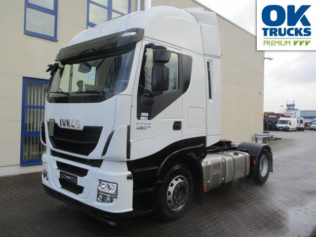 Iveco Stralis AS440S48T/P Euro6 Intarder Klima Navi Luftfeder ZV Standhzg - 2015